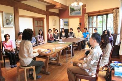 報告・昼の部・新月アセンションの会 vol.2 2012.10.16