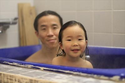 お湯で洗髪 お湯シャンプー検証中っ