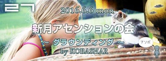 【満席】バシャールを学ぶ 新月アセンションの会 vol.27「グラウンディング」 2016.6.6 夜