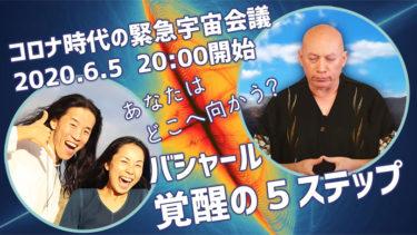 【超重要】バシャール 覚醒の5ステップ コロナ時代の緊急宇宙会議 コバシャール