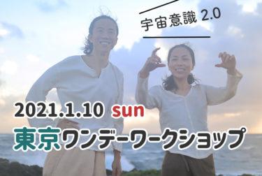 【残席わずか】2021.1.10(日)東京ワンデーワークショップ 久しぶりの開催です